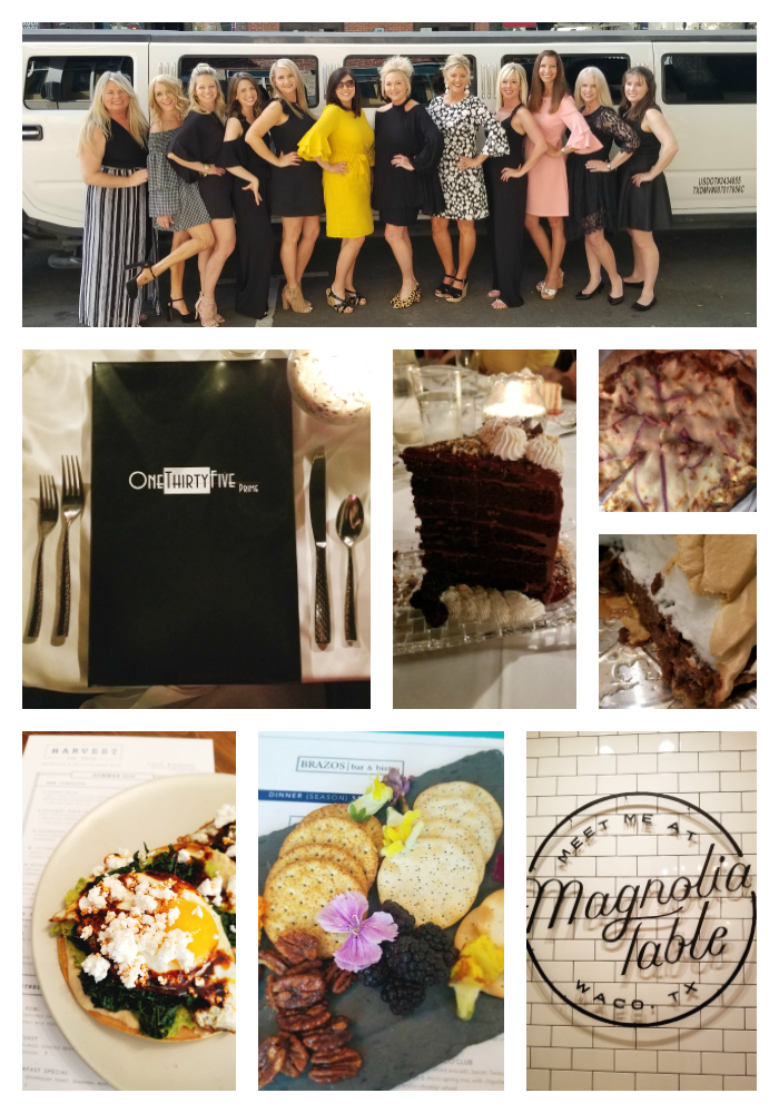 Magnolia Table, eating in waco, brazos, harvest on 25th, 135 prime, pie peddler, 900 degree pizza