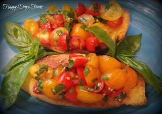 Fresh Bruschetta- Farm to Table