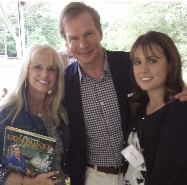 Meeting P. Allen Smith in Old Salem, North Carolina