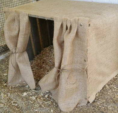 Re-Purposing a Wooden Crate into a Nesting Box