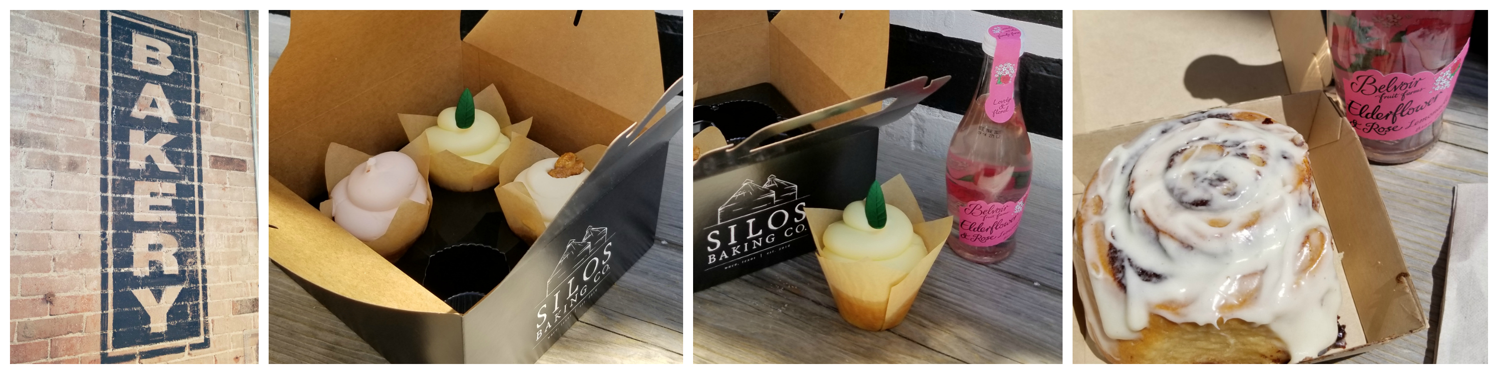 Cupcakes, Cinnamon Rolls, Silo Baking Co