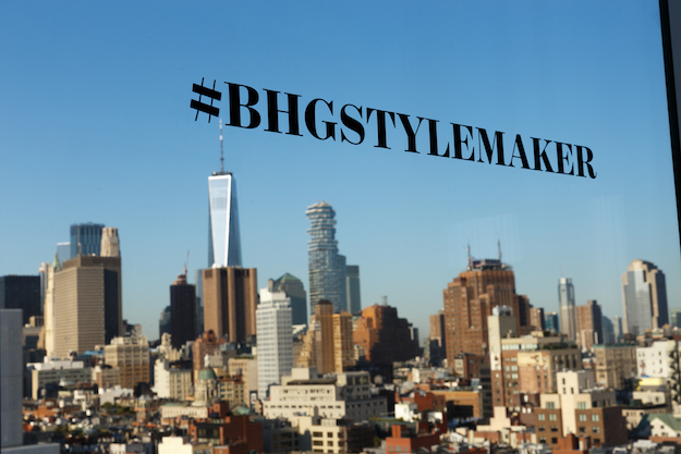 Better Homes and Gardens #stylemaker in new york city