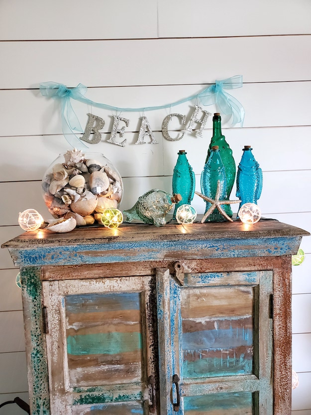 Beach Garland Christmas Decor