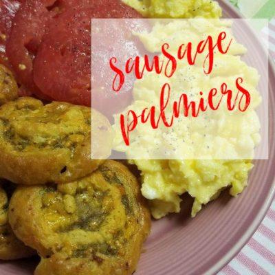 Sausage Palmiers Breakfast