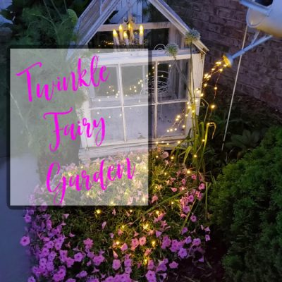 Twinkle Lights for Fairy Gardens